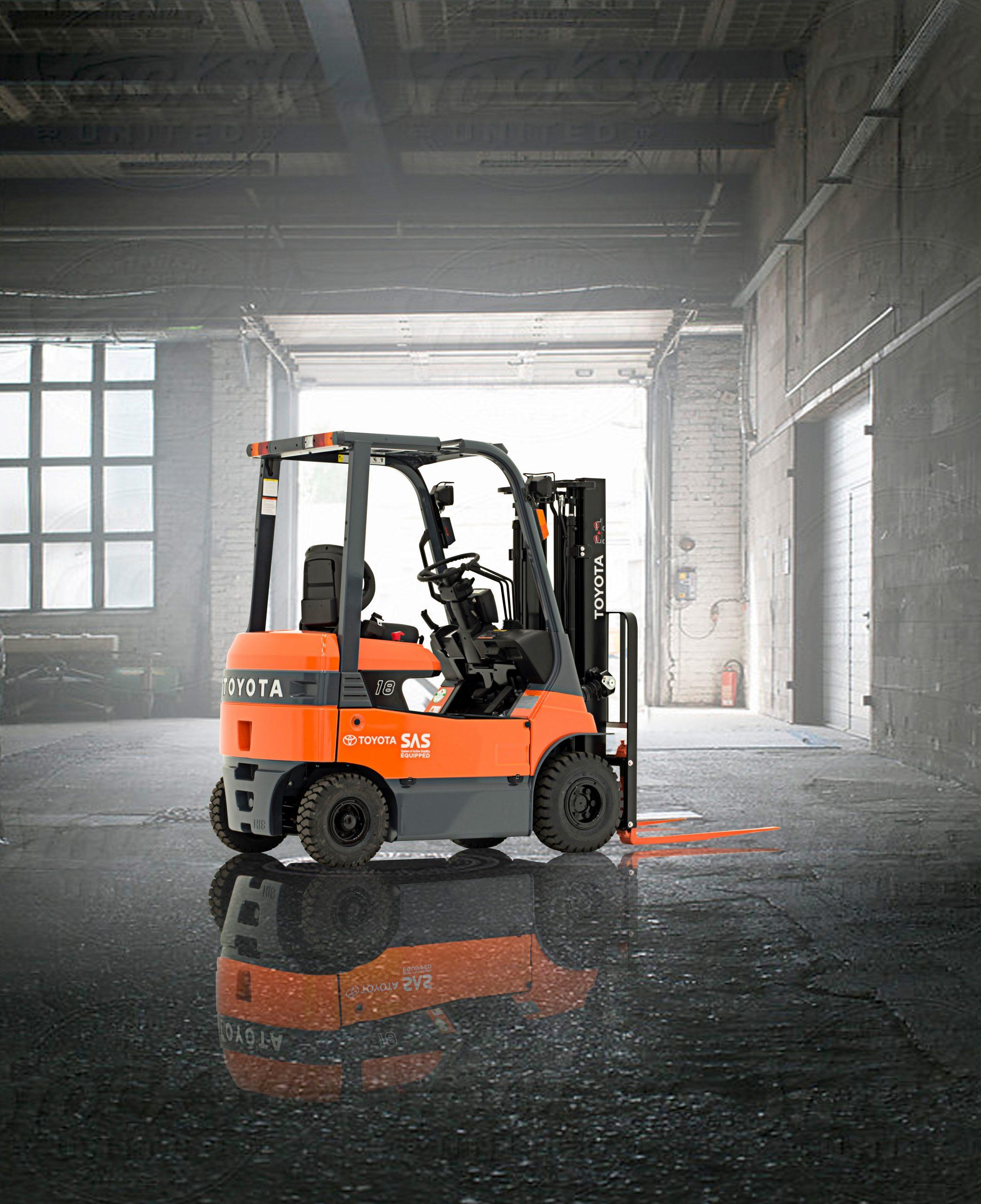 Forklift After